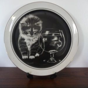 Kittens World Plate by Drougett